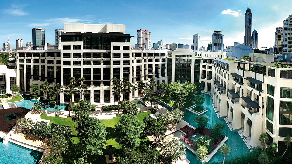Siam Kempinski Hotel: A Resort in the centre of the Bangkok