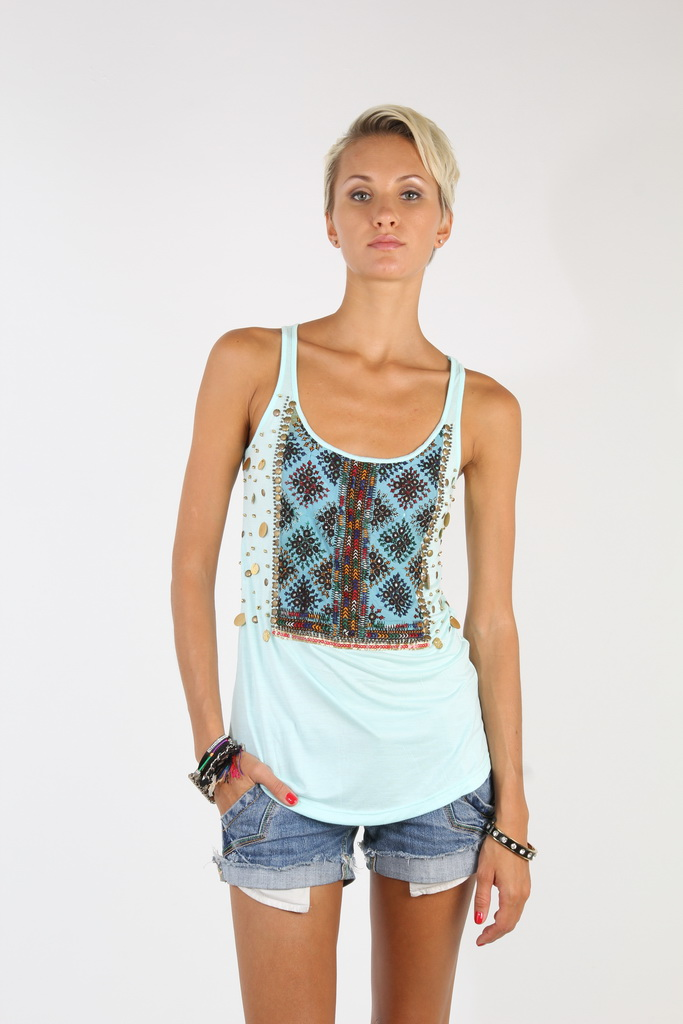 A Play of Embroidery and Bead on a Kaleidoscope Collection