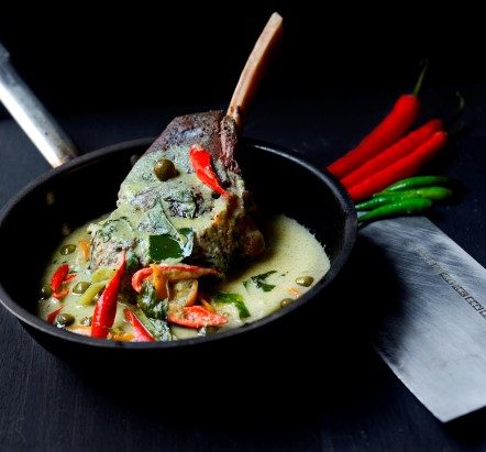 72Hour Cooked Beef Ribs in Green Curry
