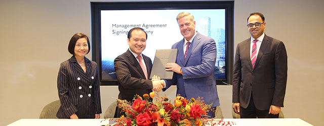 Marriott International Signs Agreement With One Bangkok Co., Ltd., for its First Ritz-Carlton Hotel In Bangkok