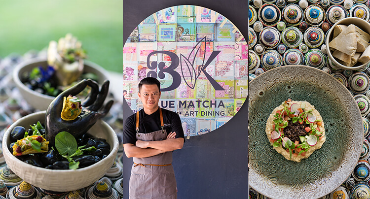 Mixing Art & Cuisine, Blue Matcha Kitchen Opens in Seminyak